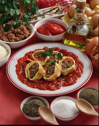 Rotolo al tonno, cucina, ricette, ricetta, tonno, frittate, frittata, uova,
