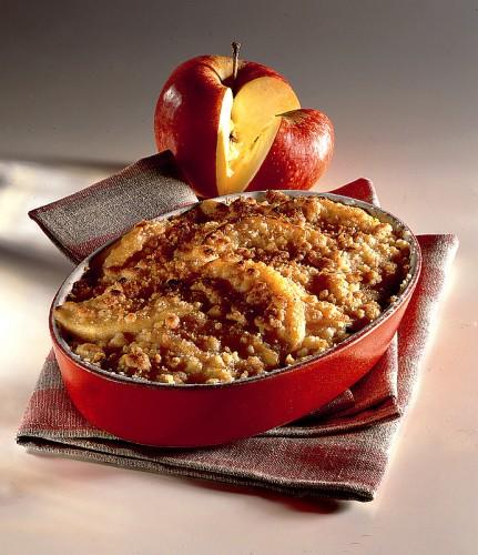 crumble, cucina, dolci, ricette, ricetta, mele,