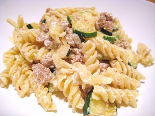 Fusilli ricotta salsicce e zucchine cosa cucino oggi for Primi piatti cucina romana