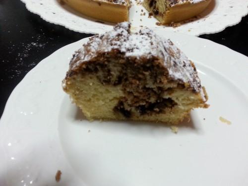 ricette, ciambellone alla nutella, nutella, torte, cioccolato, torta al cioccolato, ciambella alla nutella
