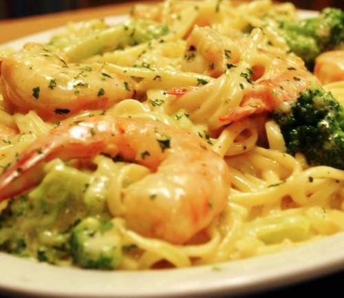 linguine broccoli e gamberi – ricette di sardegna