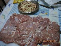 cucina,ricette,ricetta,arrosto agnello rotolo,cosciotto farcito,ripieno,recipes