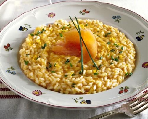 risotto, cucina, ricette, ricetta, salmone, pesce, riso, risotti,