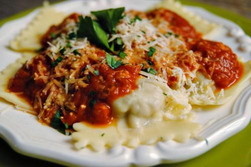 cucina, ricette, primi piatti, ravioli, ricotta, spinaci
