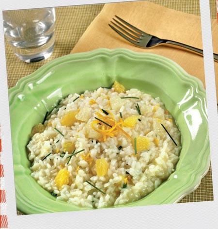 cucina, ricette, ricetta, risotto, risotto agli agrumi, preparazione, pompelmo, arance, agrumi,