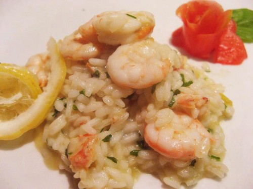 cucina, ricsotto, gamberi, limone, risotto ai gamberi, pesce, riso, risotti di mare,
