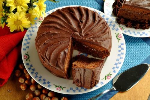 cucina, dolci, torte, gianduia, torta al gianduia, cioccolato, nocciole,