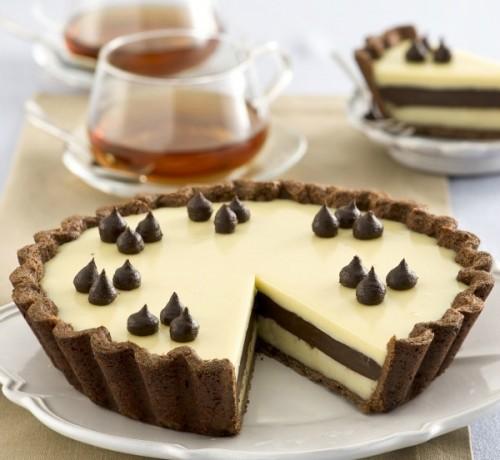 torta al doppio cioccolato, cucina, torte, cioccolato, crostate, dolci, crostata al cioccolato,