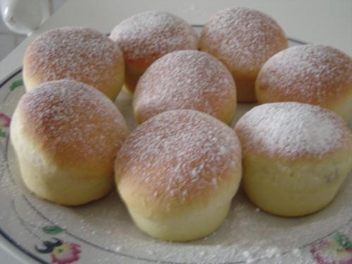 muffin di danubio ripieni alla nutella