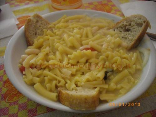 cucina, ricette, ricetta, pasta e fagioli, pasta mista, primi piatti, zuppe, minestre,