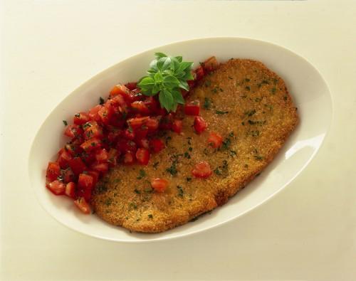 cotoletta, cuicna, ricette, ricetta, carne, cotoletta al pomodoro,
