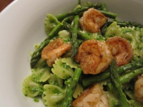 asparagi, cucina, ricette, ricetta, primi piatti, gamberi, pesce, recipes