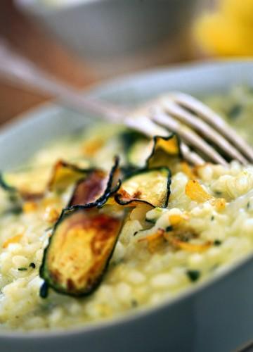 risotto, cucina,ricette, ricetta, zucchine, limone, primi pèioatti,