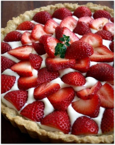dolci, cucina, ricette, ricetta, fragole, crostate, crostata, crema, recipes, crostata di fragole,