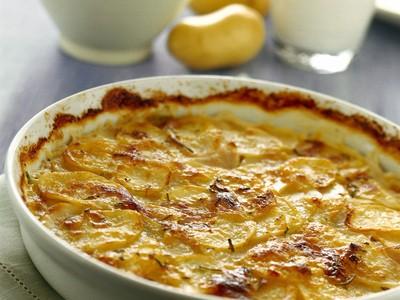 Tortino di patate con prosciutto
