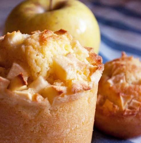 Tortini di mele e yogurt