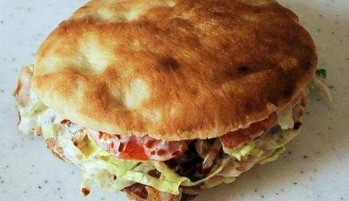 Panini con kebab casalingo