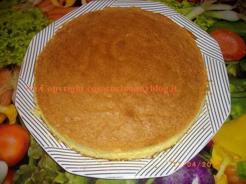 """Come si prepara il  """"pan di Spagna"""", base per torte da conservare e tenere pronta per ogni occasione"""