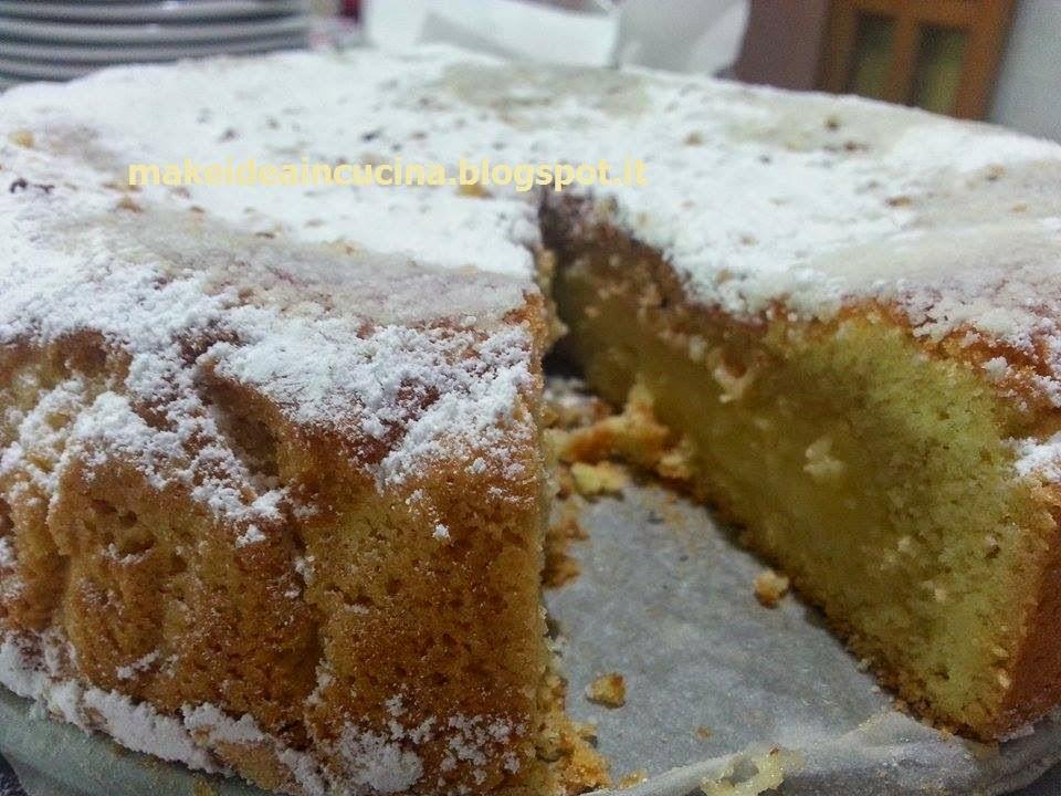 Crostata margherita con crema al limone