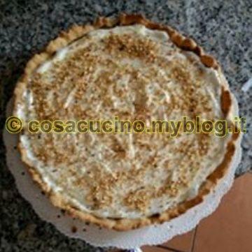Crostata Nutella e crema al latte..cotto e mangiato. Ricetta di Concetta Palumbo
