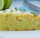 Lime yoghurt olive oil cake