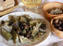 Carciofi-a-funghetto-con-olive-taggiasche