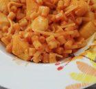 Pasta e patate con scamorza affumicata