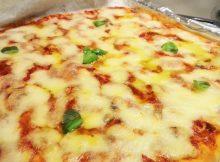 LA PIZZA IN TEGLIA FATTA IN CASA SOFFICE E CROCCANTE
